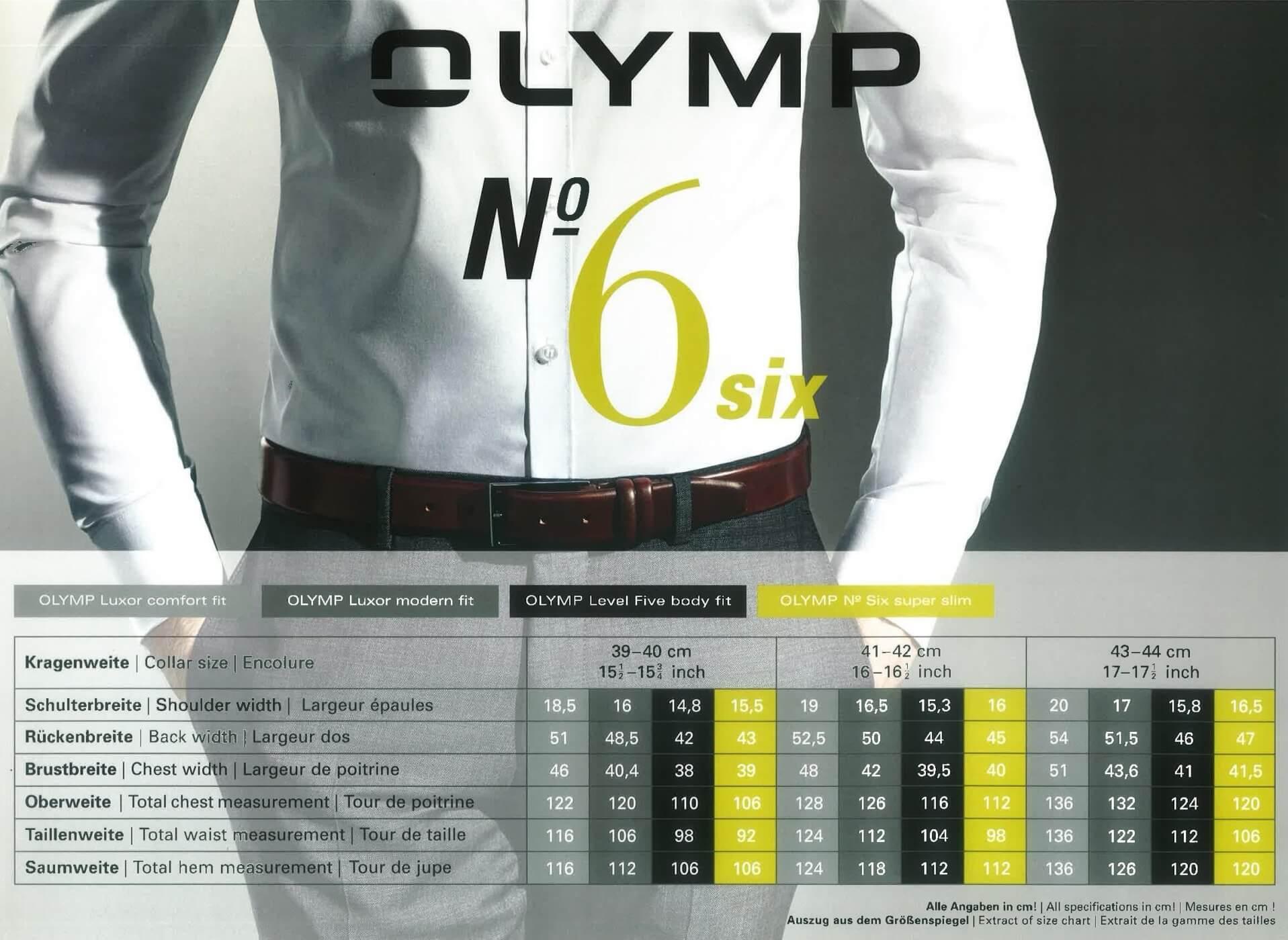 77e6cbff14 No.6 - Six / super slim (extrém karcsúsított) - Olymp ing webáruház -  Minőségi vasalásmentes ingek és nyakkendők